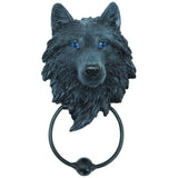 Dark Guardian Wolf Door Knocker | Angel Clothing