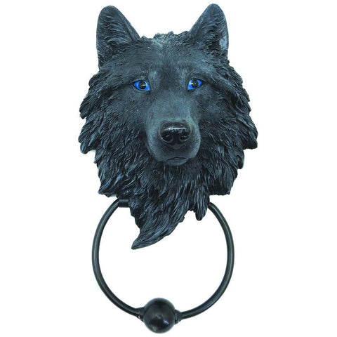 Dark Guardian Wolf Door Knocker 22.8cm | Angel Clothing