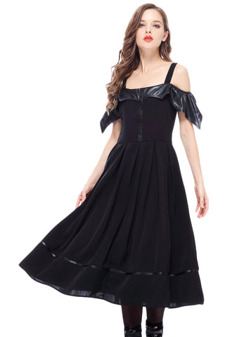 Dark In Love Bat Wing Dress | Angel Clothing