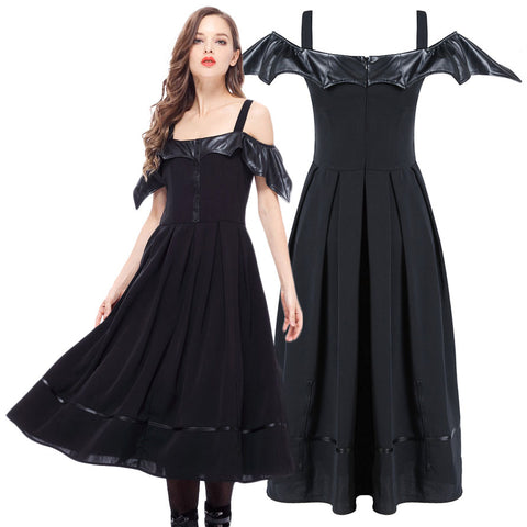 Dark In Love Bat Wing Dress - Angel Clothing
