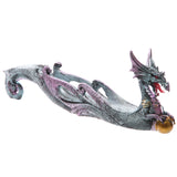 Dark Legends Dragon Ashcatcher Shimmering Blue A | Angel Clothing