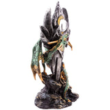 Dark Legends Eye of the Sword Green Dragon Figurine | Angel Clothing