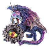 Dark Legends Gemstone Frame Blue Dragon | Angel Clothing