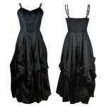 Dark Star Black Polysilk Dress | Angel Clothing