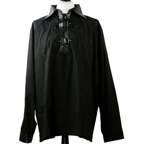 Dark Star Black Gothic Pirate Shirt | Angel Clothing