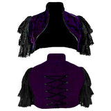 Dark Star Purple Shrug | Angel Clothing