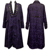 Dark Star Purple Frock Coat | Angel Clothing