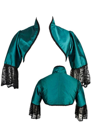 Dark Star Green Bolero Jacket | Angel Clothing