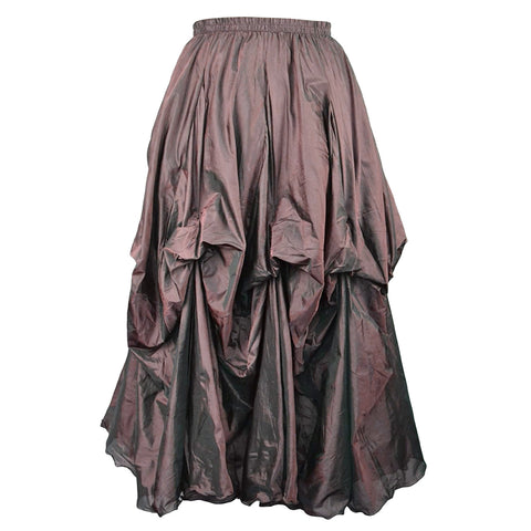 Dark Star Steampunk Skirt,  Poly Silk Skirt