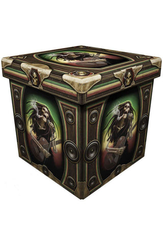 Dead Dread Ottoman Storage Box | Angel Clothing
