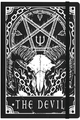 Deadly Tarot The Devil Notebook | Angel Clothing