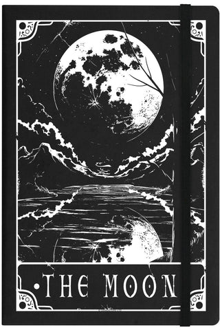 Deadly Tarot The Moon Notebook | Angel Clothing