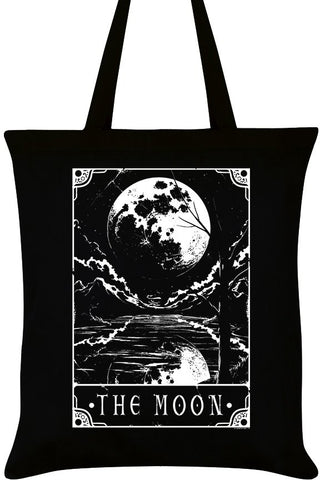 Deadly Tarot The Moon Tote Bag | Angel Clothing