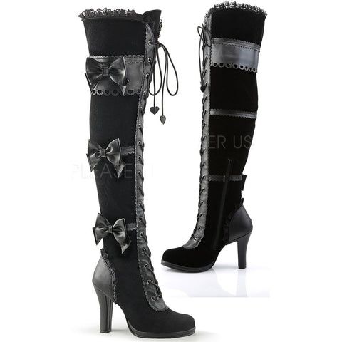Demonia GLAM-300 Boots | Angel Clothing