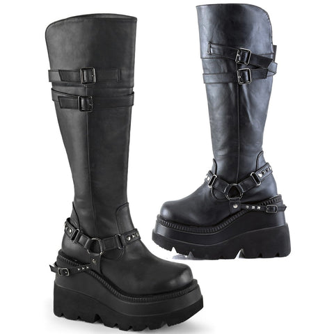 Demonia SHAKER-101 Boots | Angel Clothing