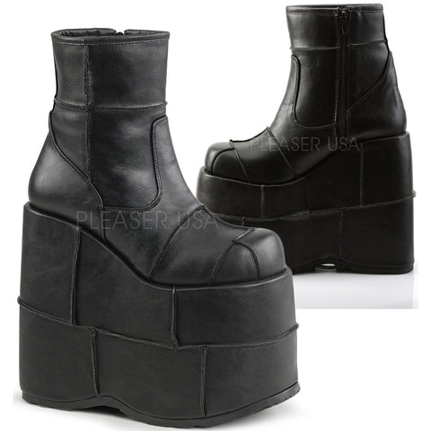 Demonia STACK-201 Boots | Angel Clothing