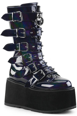Demonia DAMNED-225 Boots Hologram | Angel Clothing