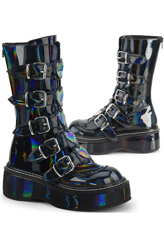 Demonia EMILY-330 Hologram Boots | Angel Clothing
