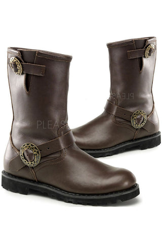 Demonia Steampunk Boots Steam | Angel Clothing