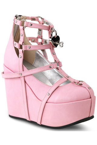 Demonia POISON 25-2 Shoes Pink | Angel Clothing