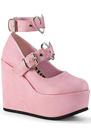 Demonia POISON-99-2 Shoes Pink | Angel Clothing