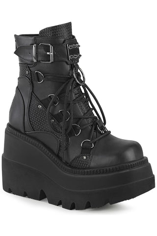 Demonia Shaker 60 Boots Black | Angel Clothing