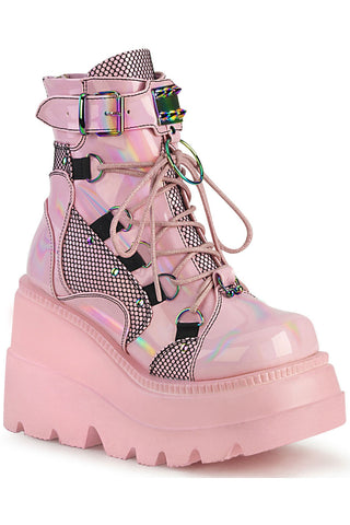 Demonia Shaker 60 Pink Boots | Angel Clothing