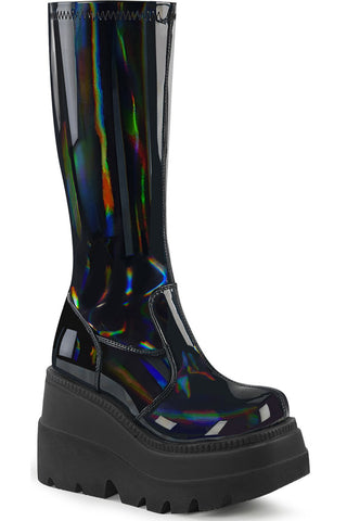 Demonia Shaker 65 Boots Black | Angel Clothing