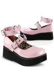 Demonia SPRITE 02 Shoes Pink | Angel Clothing