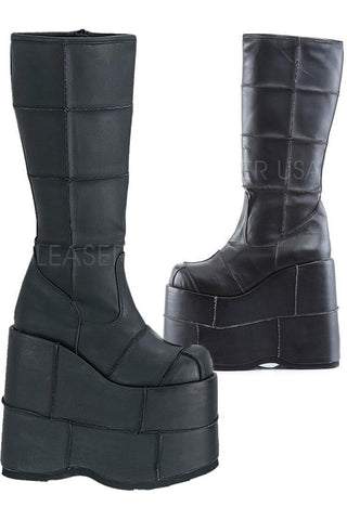 Demonia STACK 301 Boots Matte | Angel Clothing
