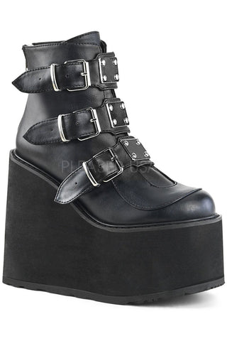 Demonia SWING-105 Boots Black | Angel Clothing