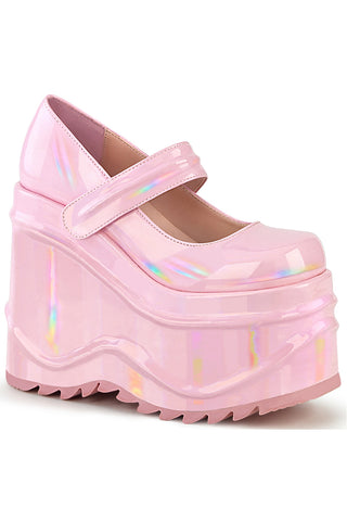 Demonia WAVE 32 Pink Shoes | Angel Clothing