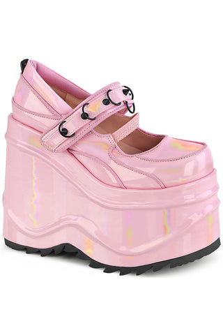Demonia WAVE 48 Pink Shoes | Angel Clothing