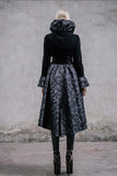 Devil Fashion Ladies Gothic Long Coat CT005 | Angel Clothing