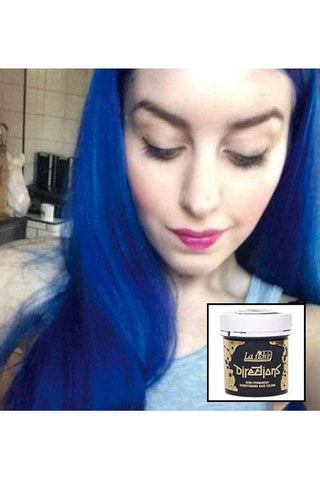 Directions Neon Blue Hair Dye | Angel Clothing