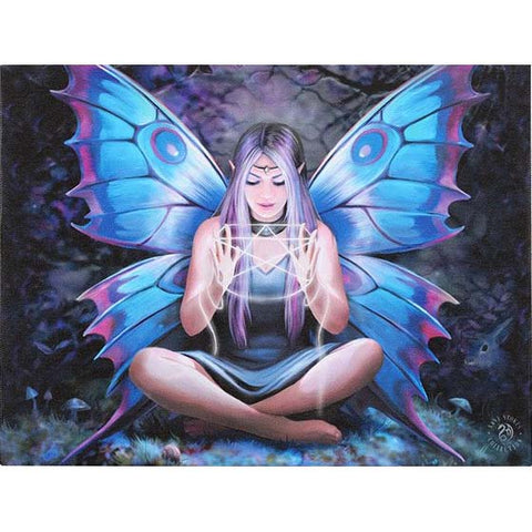 Anne Stokes Spell Weaver Fairy Picture 19cm x 25cm | Angel Clothing