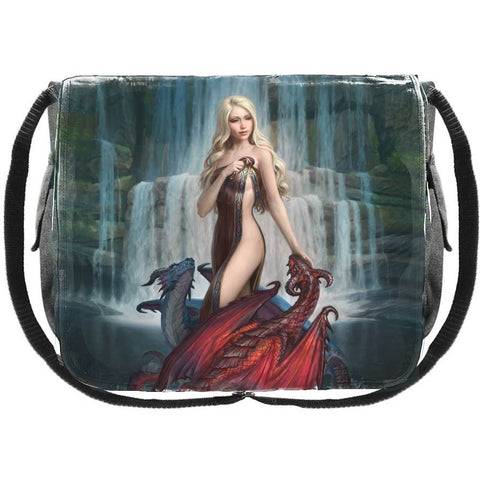 Dragon Bathers Messenger Bag by James Ryman 40cm | Angel Clothing