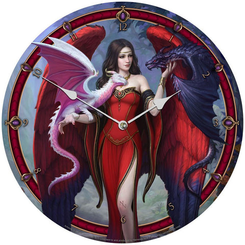 Dragon Mistress Clock By James Ryman | Angel Clothing