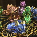 Geode Gathering LED Dragon Display with 12 Dragons | Angel Clothing
