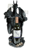 Dragon Wine Guardian Bottle and Glass Holder | Angel Clothing