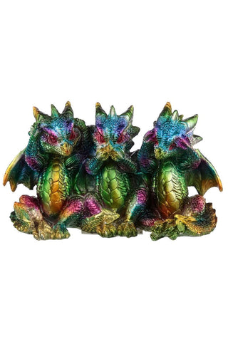 Dragons Hear No See No Speak No Evil | Angel Clothing