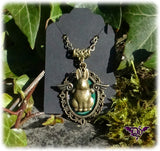 Dragophelion Designs Flying Bunny Steampunk Necklace - Angel Clothing