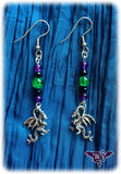 Dragophelion Designs Gothic Dragon Earrings | Angel Clothing