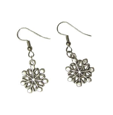 Dragophelion Designs Snowflake Earrings | Angel Clothing