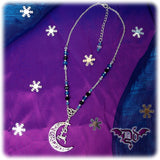 Dragophelion Designs Winter Frost Luna Reindeer Necklace | Angel Clothing