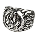 Echt etNox Bear´s Paw Ring Sterling Silver | Angel Clothing