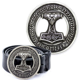 Echt etNox Mjölnir Viking Belt Buckle | Angel Clothing