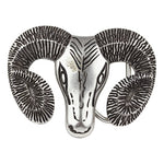Echt etNox Ram Skull Belt Buckle | Angel Clothing