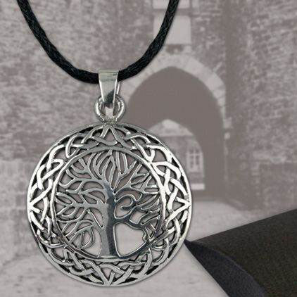 Echt etNox Tree of Life Pendant Silver | Angel Clothing