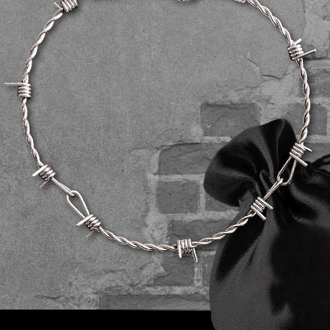 Echt etNox Barbed Wire Necklace | Angel Clothing